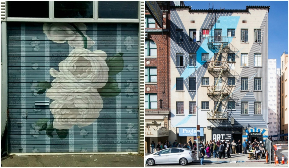 Mural Festival collage