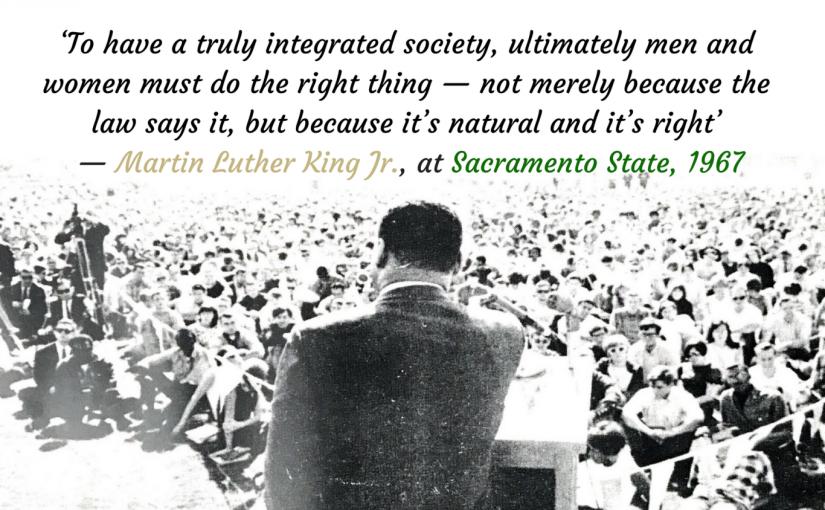 MLK at Sac State: 50 yearslater